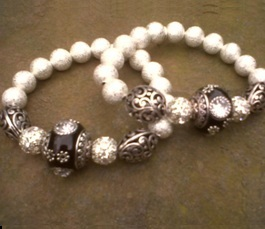 Juicy Jewels and Gems bracelets