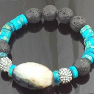 Juicy Jewels and Gems semi-precious gemstone bracelet